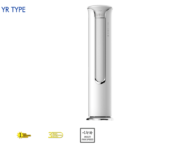Gambar AC floorstanding AUX YR Type