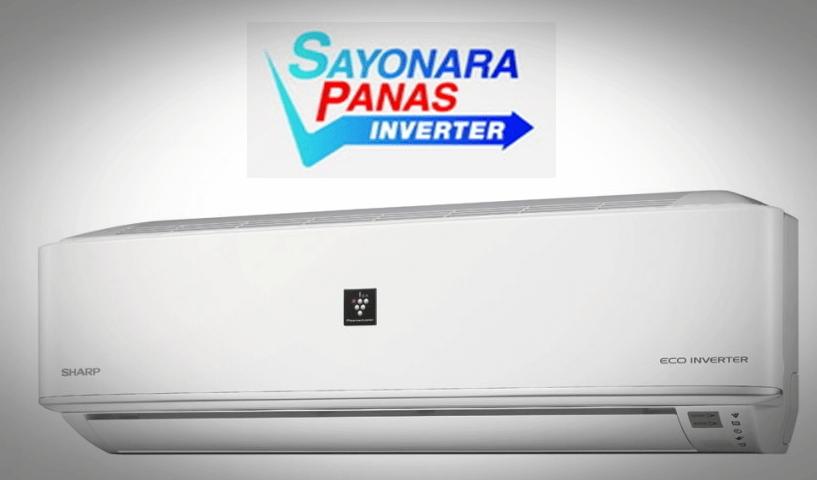Gambar AC SHARP Sayonara Panas Inverter