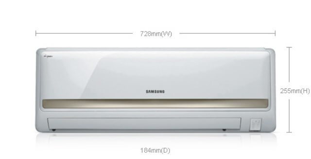 Gambar AC Samsung AR09HCFLAWKN