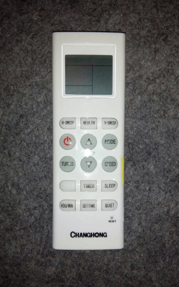 Gambar Remote AC Changhong