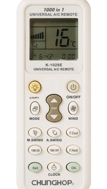 Gambar Remote AC Chunghop