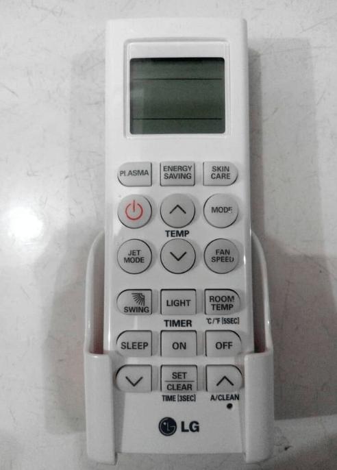 Remote AC LG