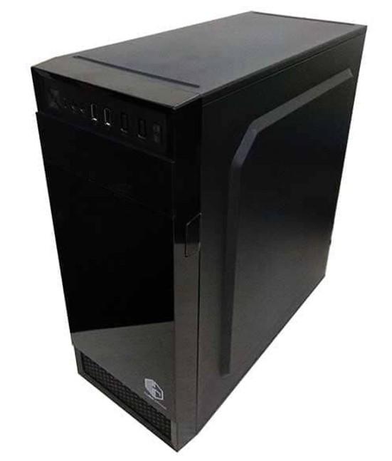 Casing PC Murah Cube Gaming BLIG + PSU 500W ATX