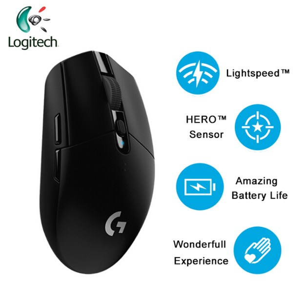Gambar Mouse Wireless Logitech G304 Lightspeed