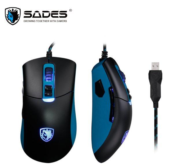 Gambar Sades Gunblade Gaming Mouse