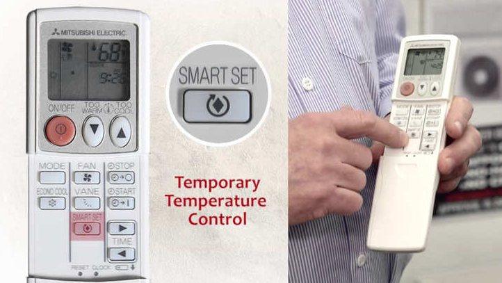 Fungsi Tombol pada Remote AC Mitsubishi