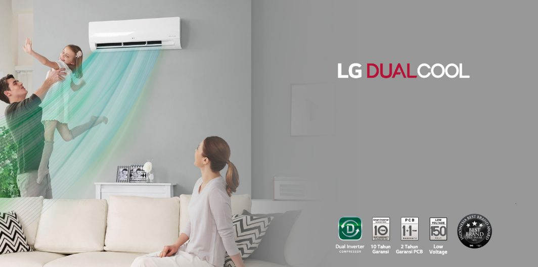 Kelebihan AC LG Dual Inverter