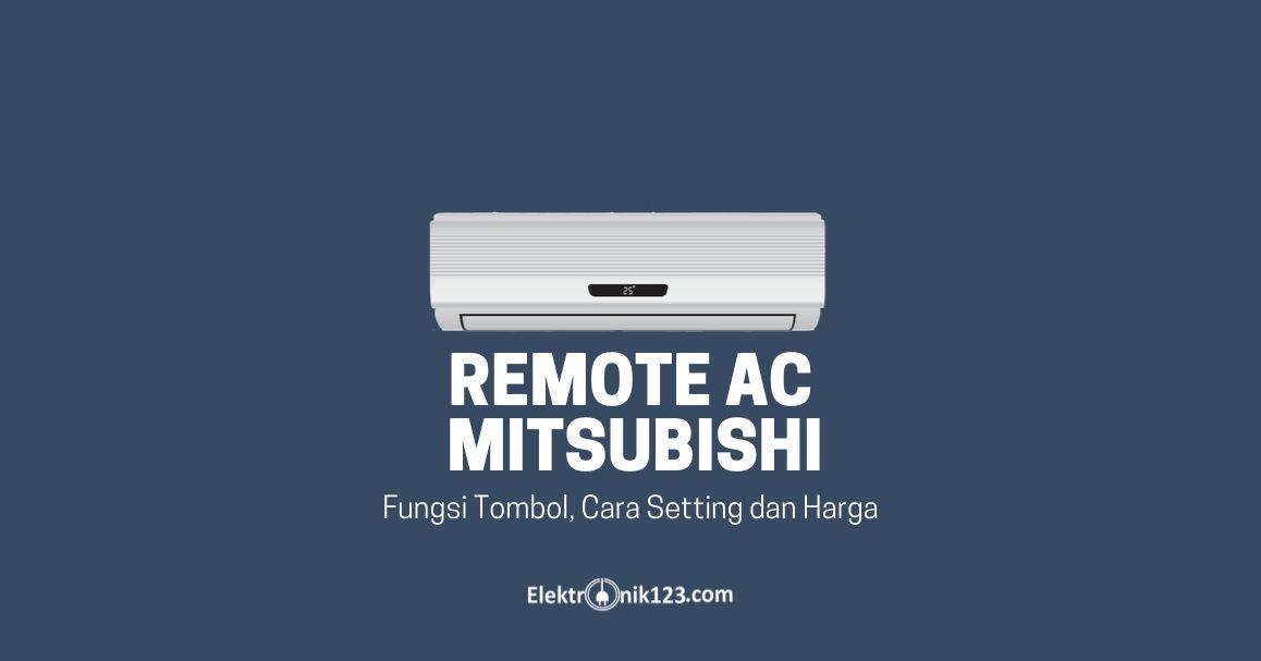 REMOT AC MITSUBISHI