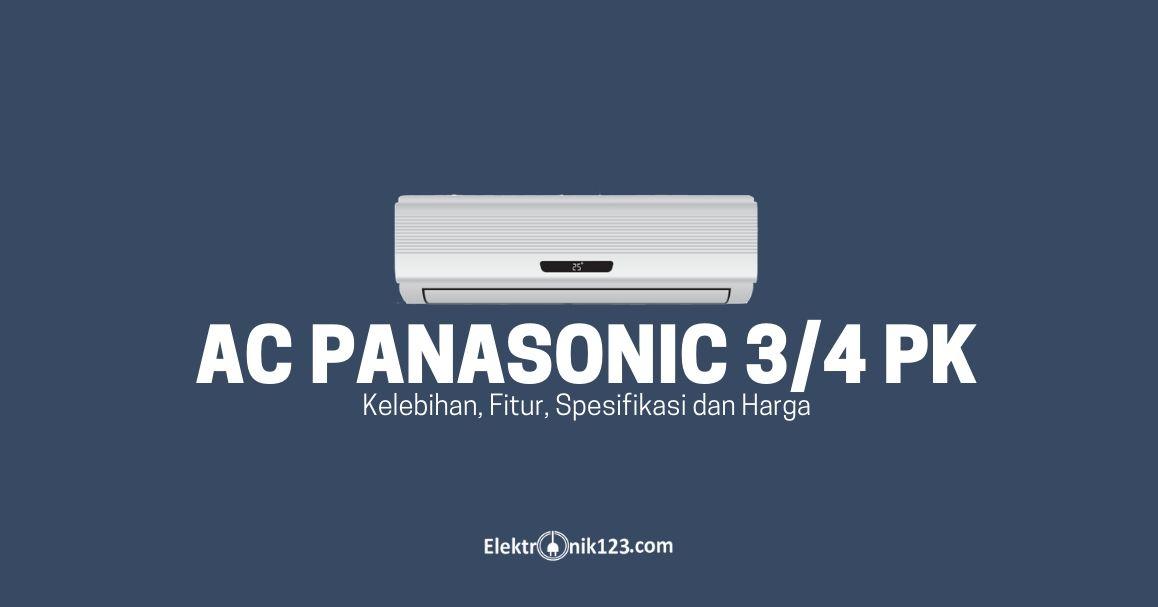 AC PANASONIC 3 4 PK