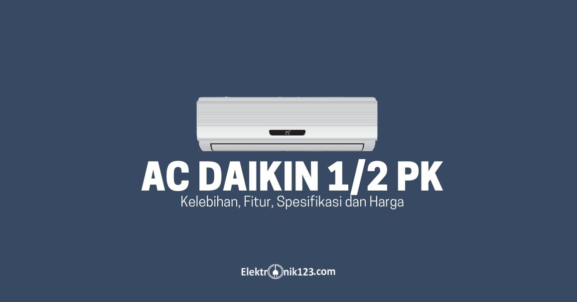 ac daikin 0,5 pk