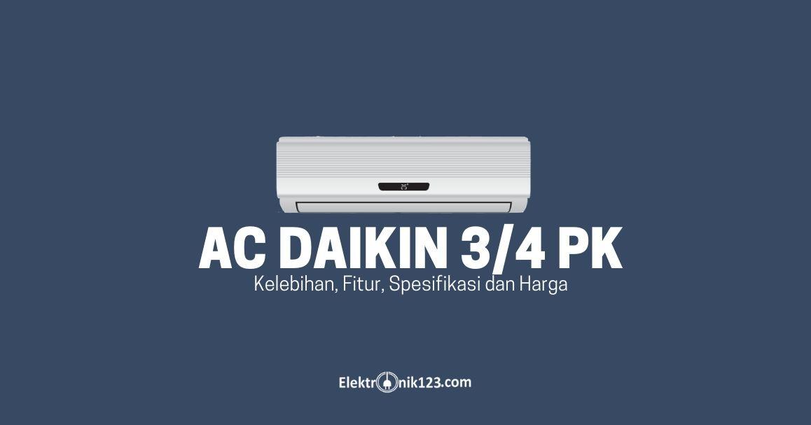 ac daikin 3/4 pk