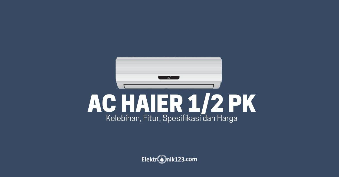 ac haier 0,5 pk