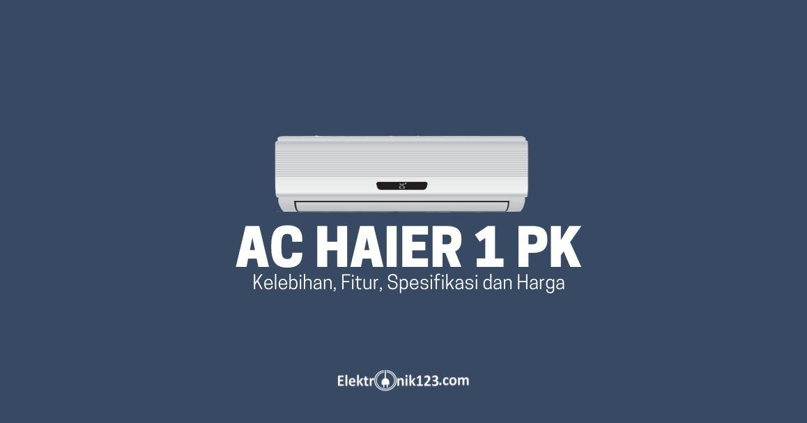 ac haier 1 pk