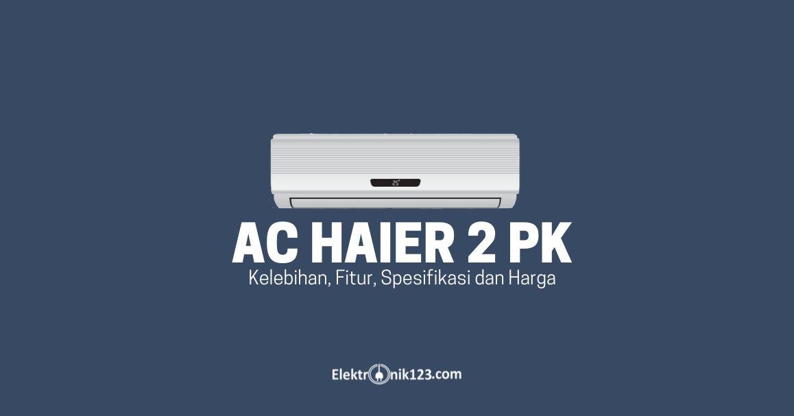 ac haier 2 pk