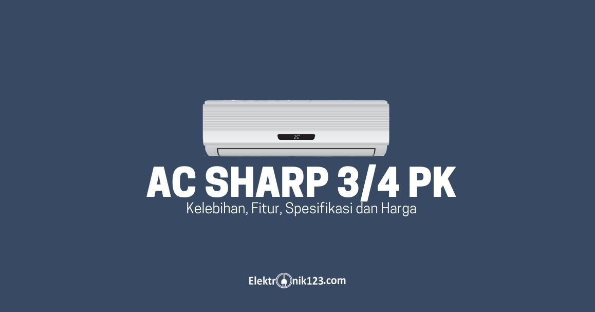 ac sharp 3/4 pk