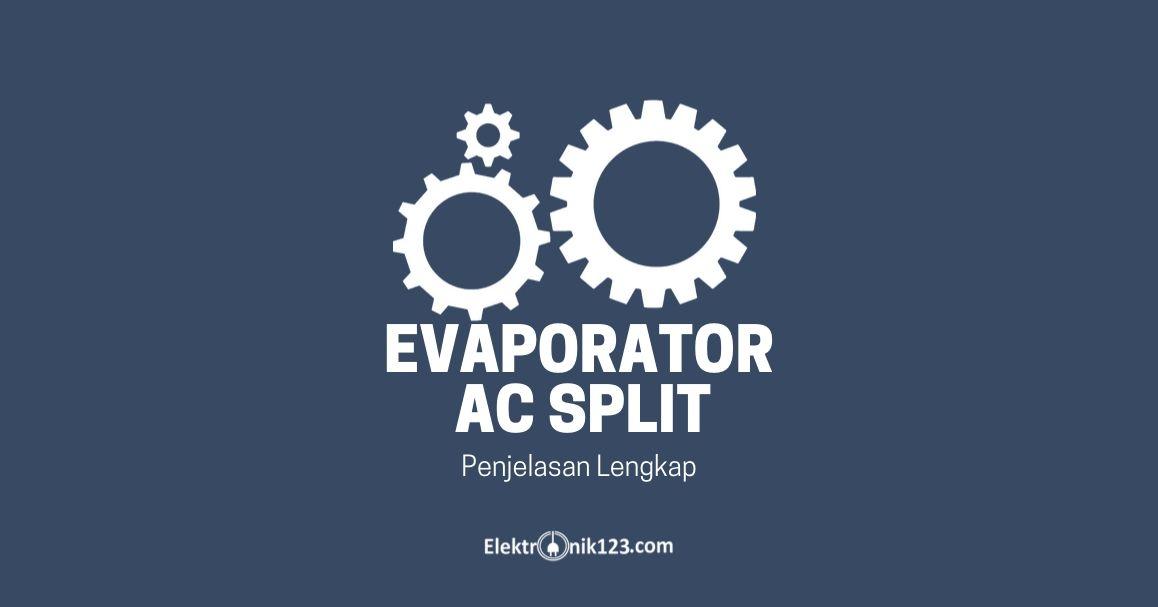 evaporator ac split