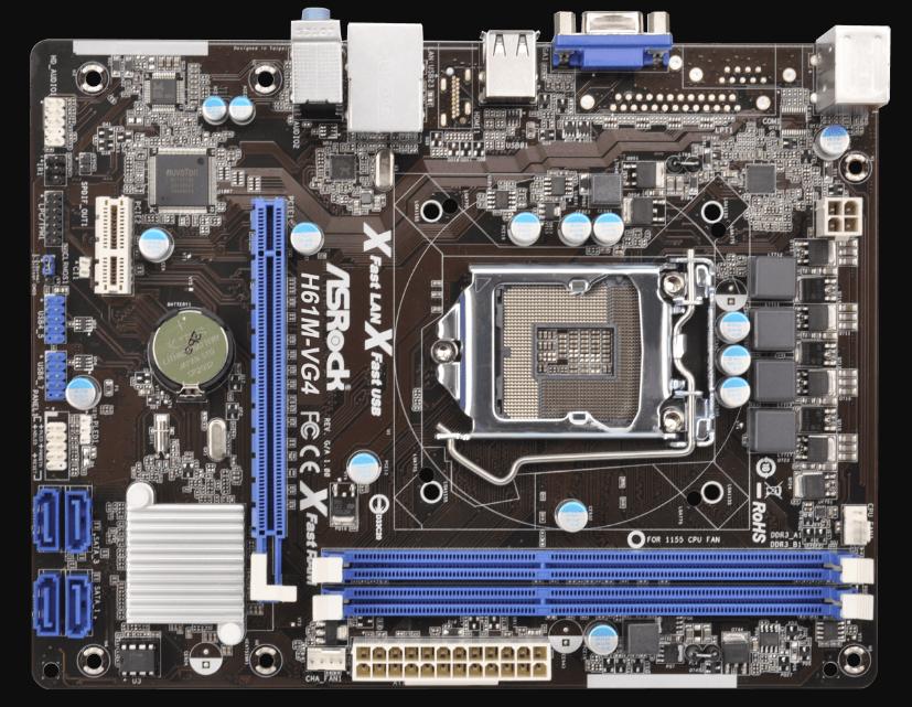 Motherboard-Asrock-H61M-VG4