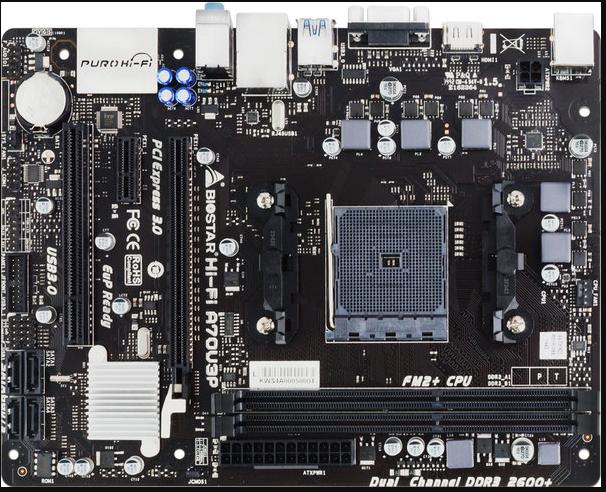 Motherboard-Biostar-HI-FI-A70U3P