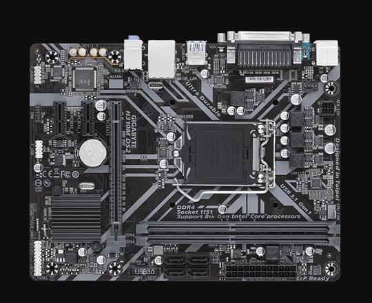 Motherboard-Gigabyte-H310M-DS2