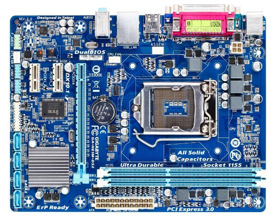 Motherboard-Gigabyte-H61
