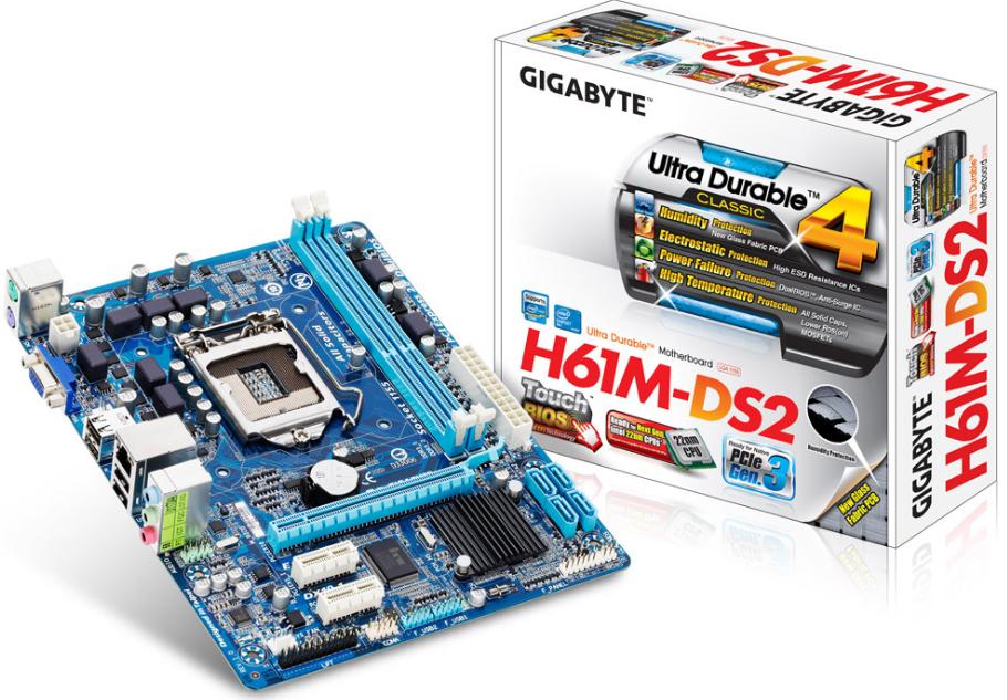 Motherboard-Gigabyte-H61M-DS2