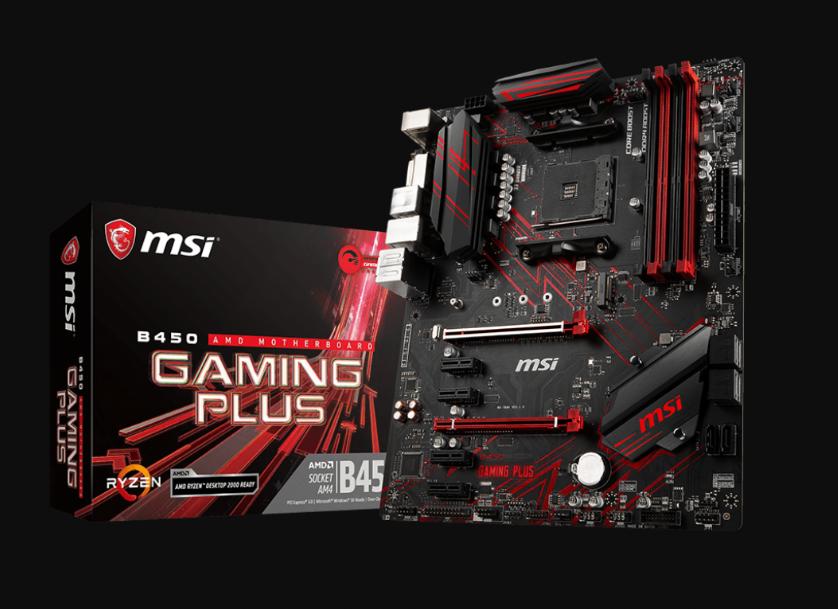 Motherboard-MSI-B450-Gaming-Plus