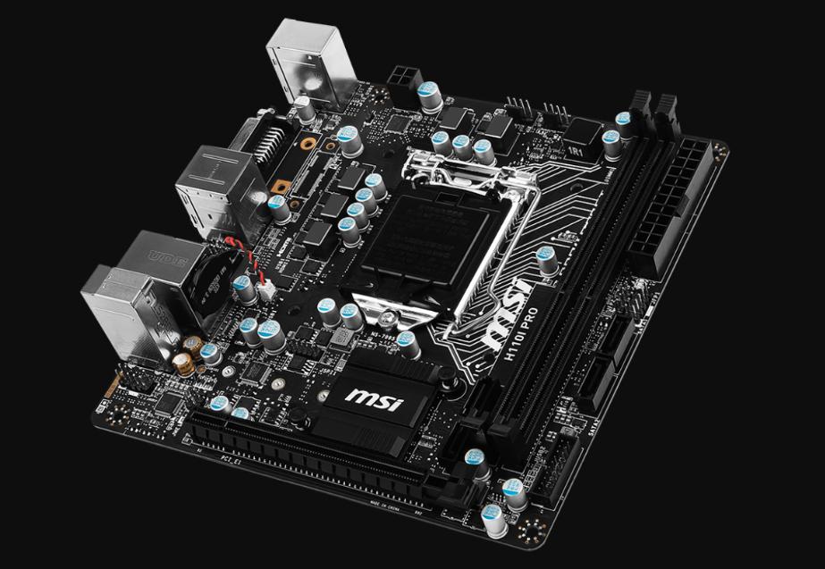 Motherboard-Mini-ITX-MSI-H110I-PRO