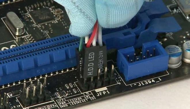 PIN-Kabel-Port-Panel
