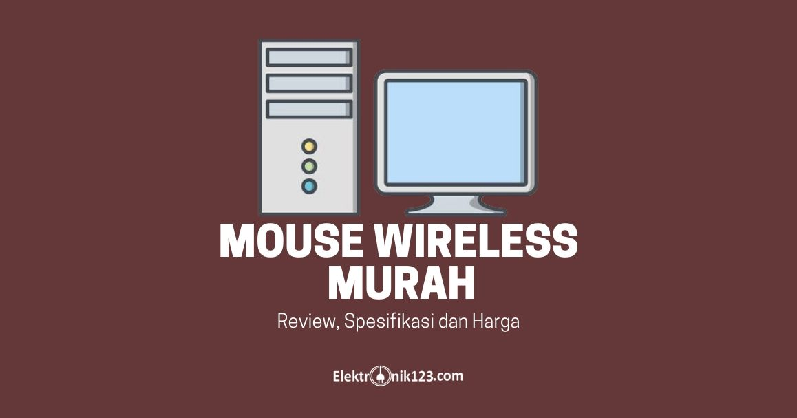 MOUSE WIRELESS MURAH