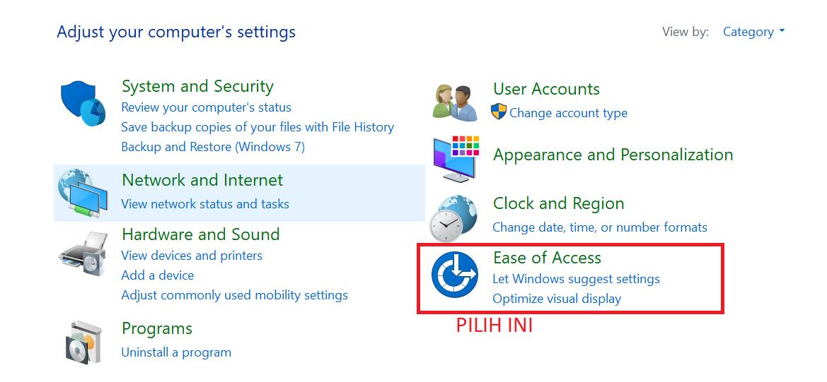 Pilih-Ease-Of-Access