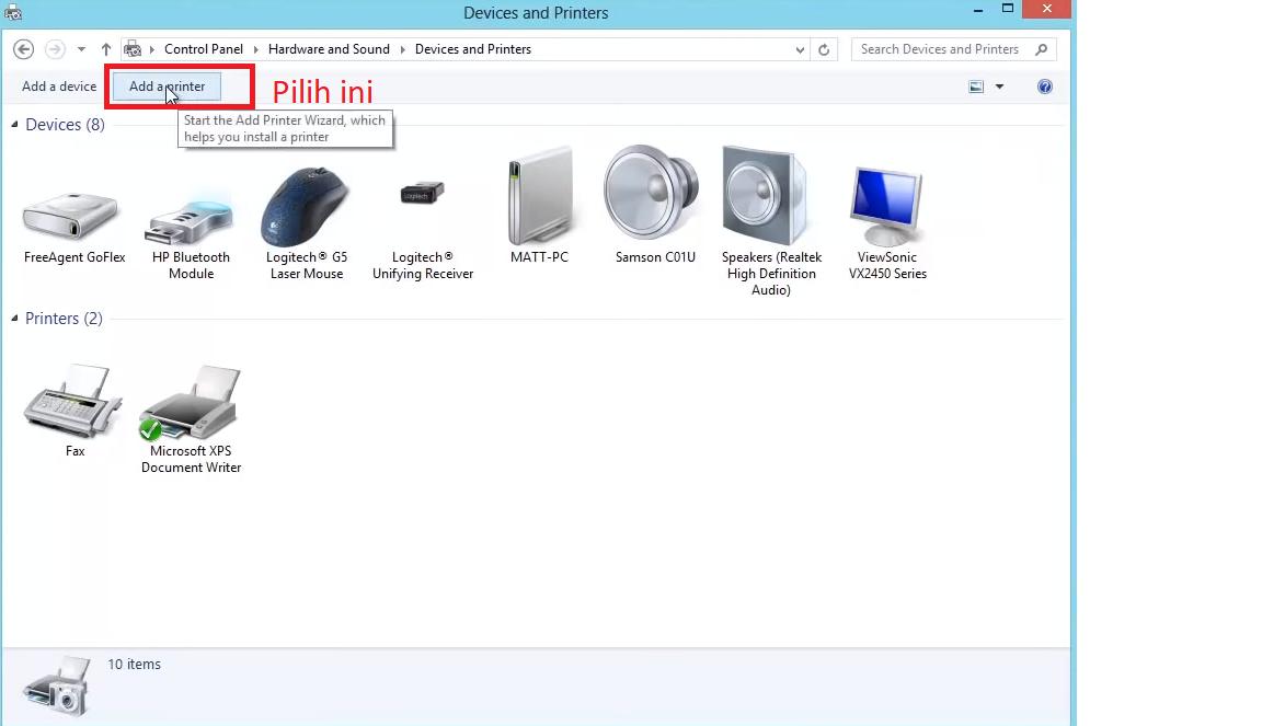 Pilih-add-a-printer