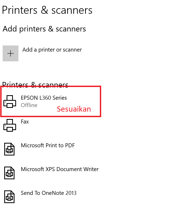 Pilih-printer