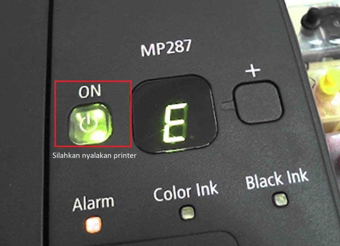 Nyalakan-printer