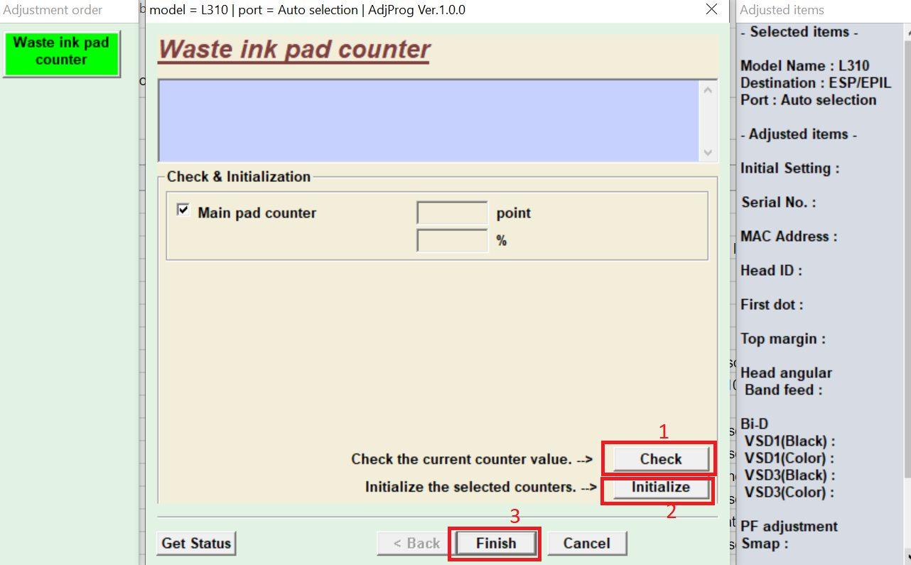 Pilih-check-dan-initialize