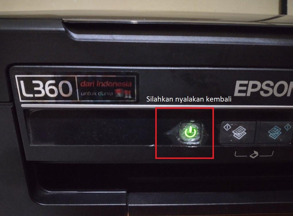 Nyalakan-kembali-printer